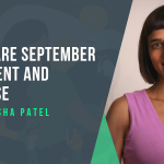 Versha Patel talk about self-care September and new mums' health.