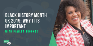 Pawlet Brookes of Serendipity Arts talking about Black History Month