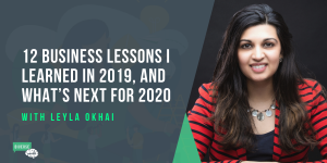 Lessons I learned in 2019