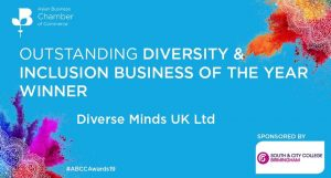 Asian Business Chamber of Commerce Outstanding Diversity and Inclusion Award 2019