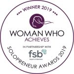 Woman Who Solopreneur Winner 2019
