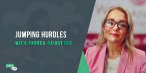Jumping Hurdles with Andrea Rainsford
