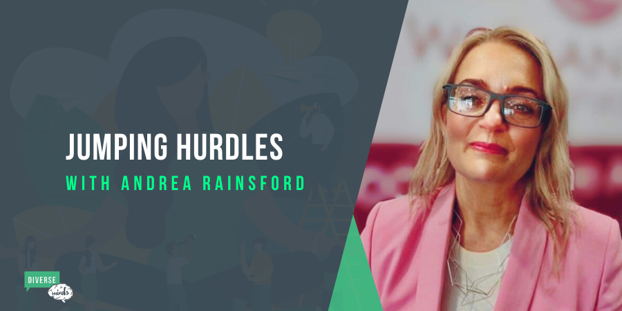 Jumping Hurdles with Andrea Rainsford