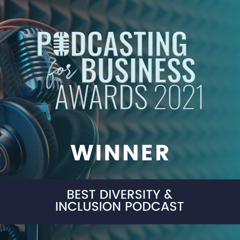 Podcast for Business Awards 2021 Winner Banner