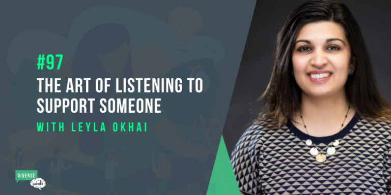 The art of listening to support someone